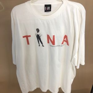 Vintage Tina Turner Twenty Four Seven Tour T-shirt